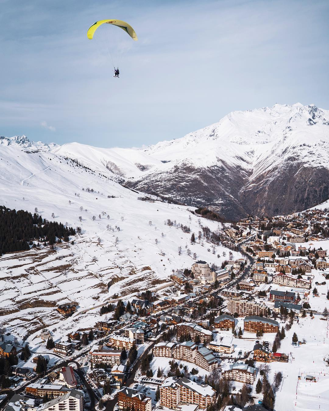 les alpes miasto